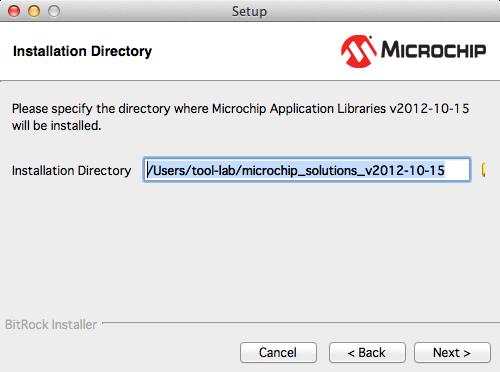 Microchipライブラリインストール3