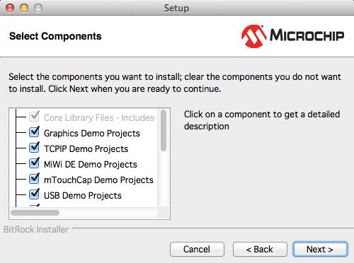 Microchipライブラリインストール4