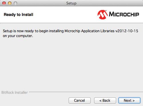 Microchipライブラリインストール5