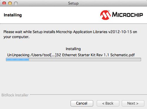 Microchipライブラリインストール7