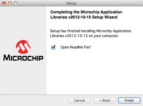 Microchipライブラリインストール8