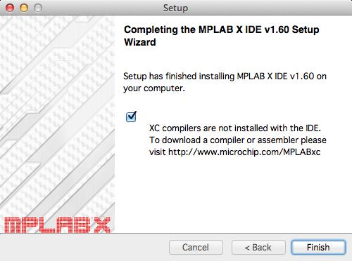 MPLABXインストール6