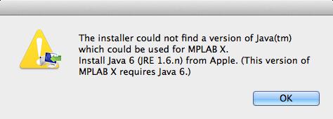 Java6が見つかりません