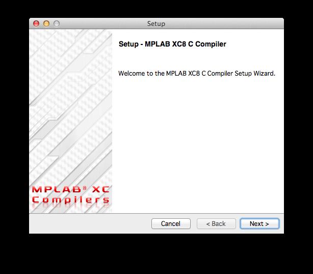 MPLAB XCコンパイラインストール1