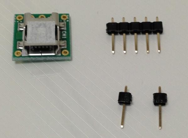 USBコネクタ準備