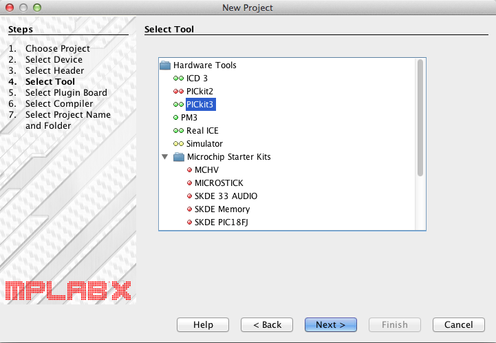 Select pickit