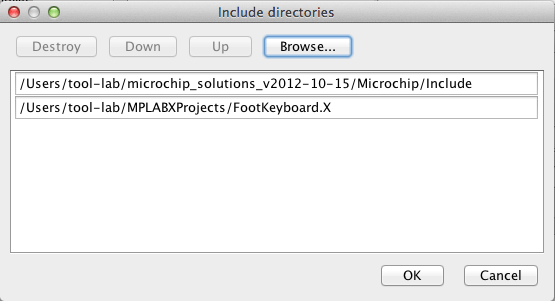Include Directories
