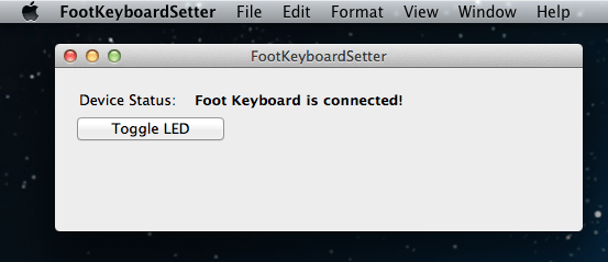 Mac app device detected