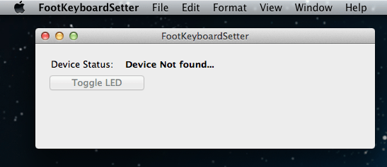 Mac app device not found