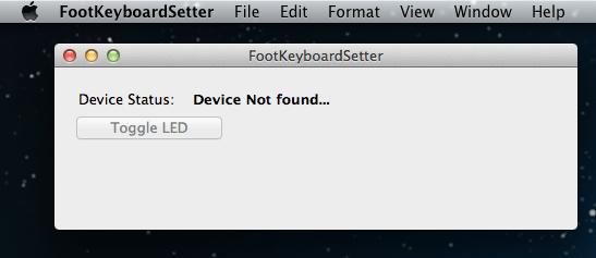 Mac app device not found