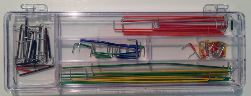Assorted jumper wire
