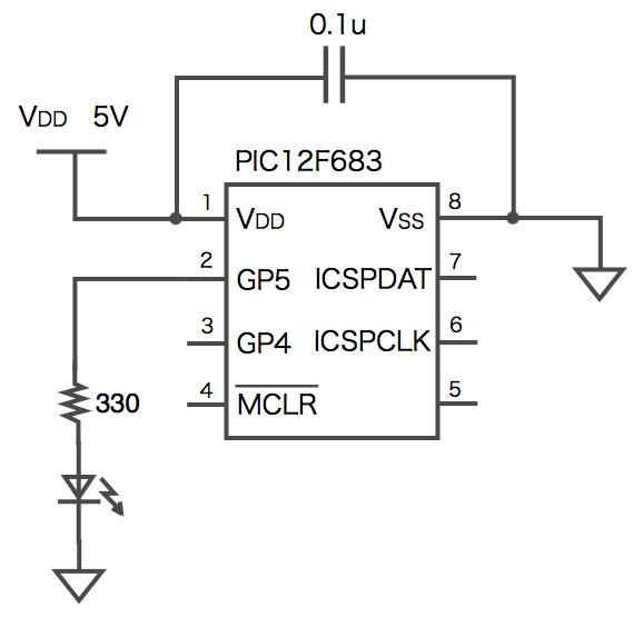 Led pic actual diagram