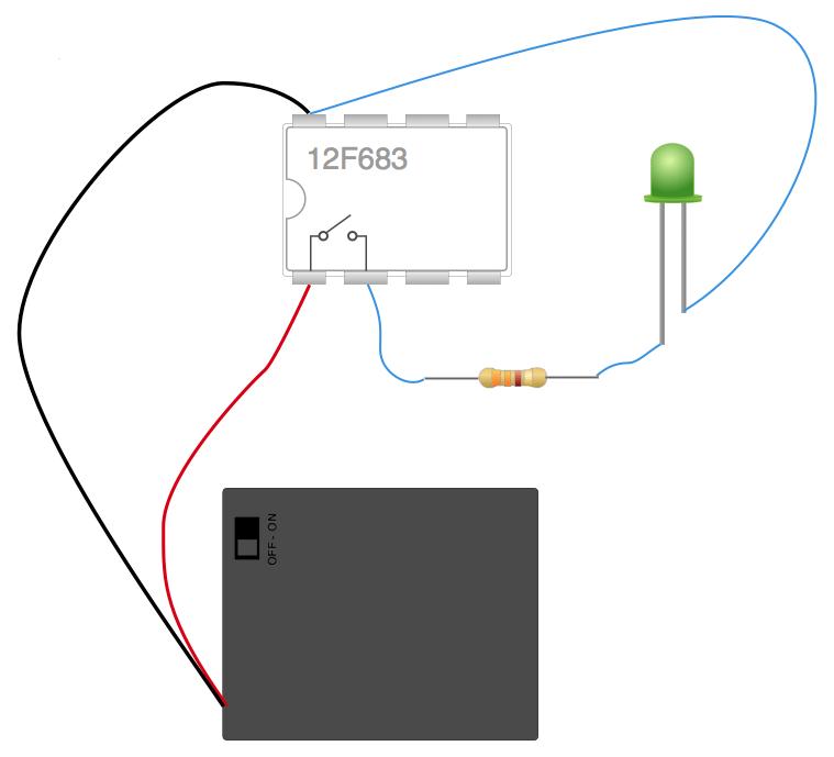 Led pic connection wocap