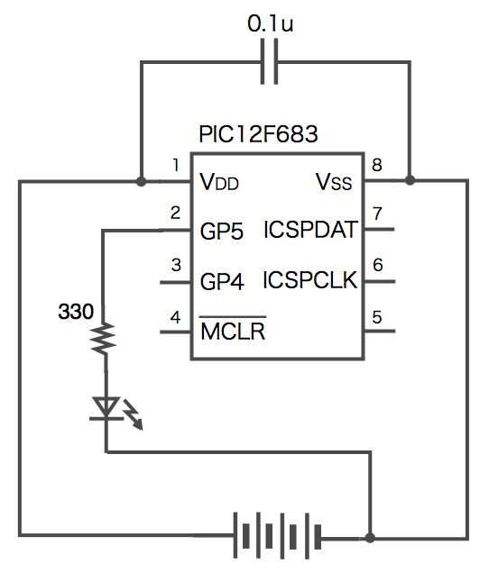 Led pic diagram