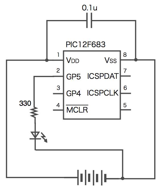 Led pic diagram