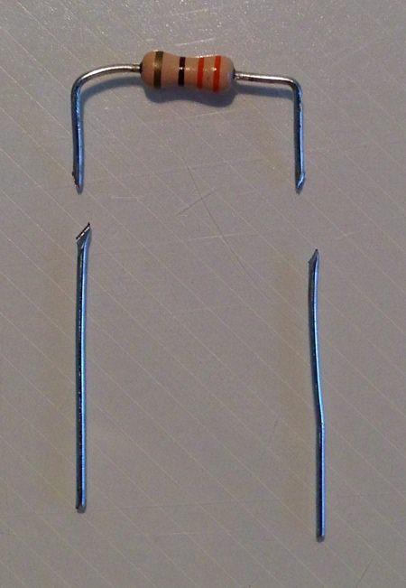 Resistore cut