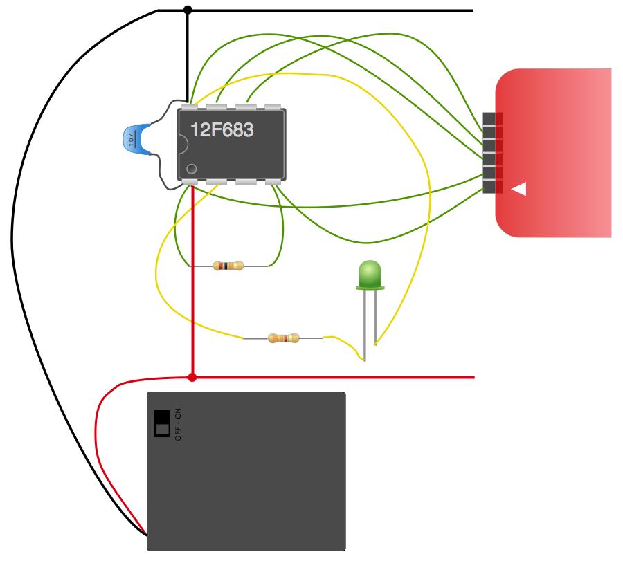 Circuit pic vdd vss