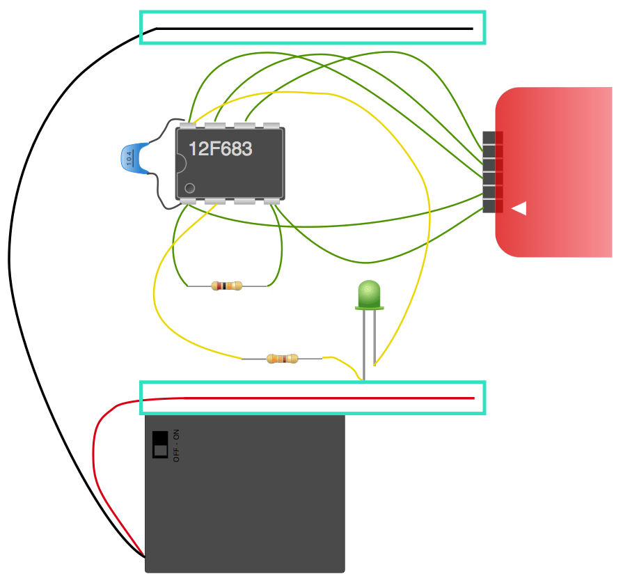 Circuit vdd vss line