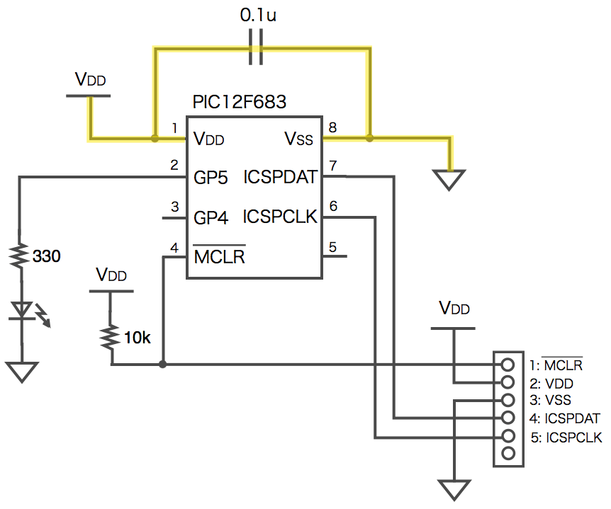 Diagram capacitor