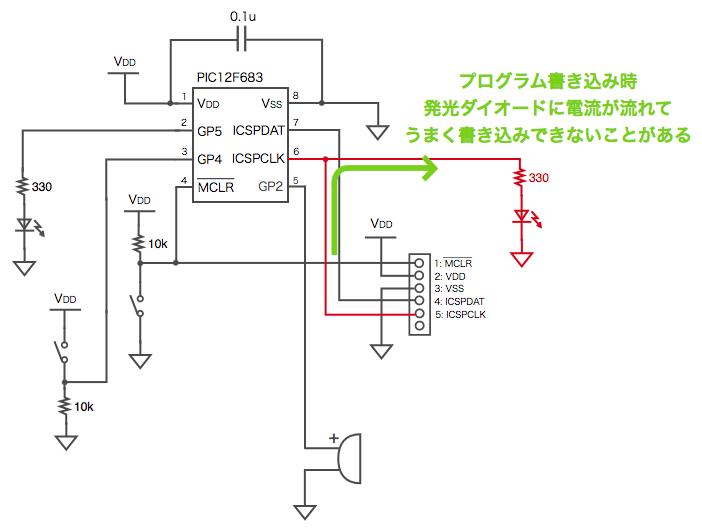 Icsp led programming