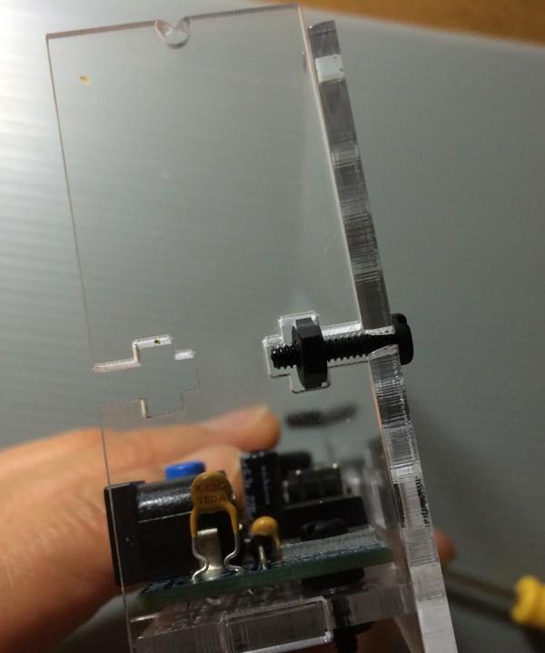 Icc case screw