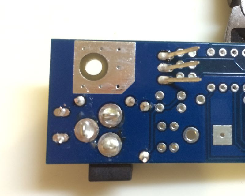 Icc power circuit regulator reverse