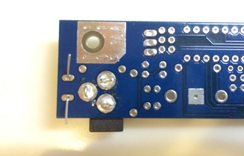 Icc power circuit terminal plus back