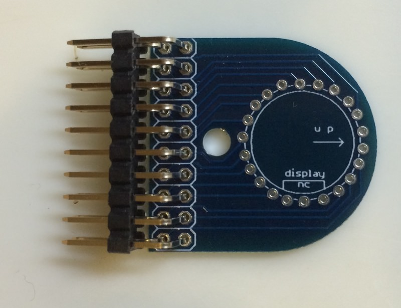 Icc tube pcb connector