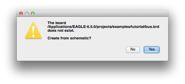 Eagle sample bus board confirm