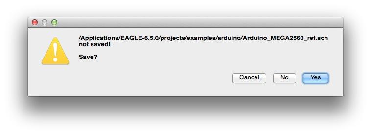 Eagle sample save confirm