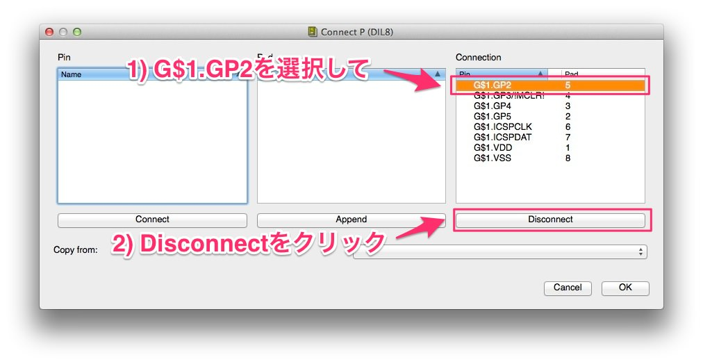 Package disconnect gp2