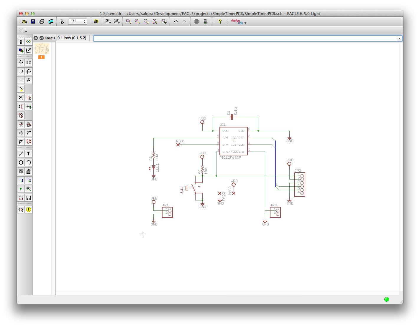 Reduced schematic