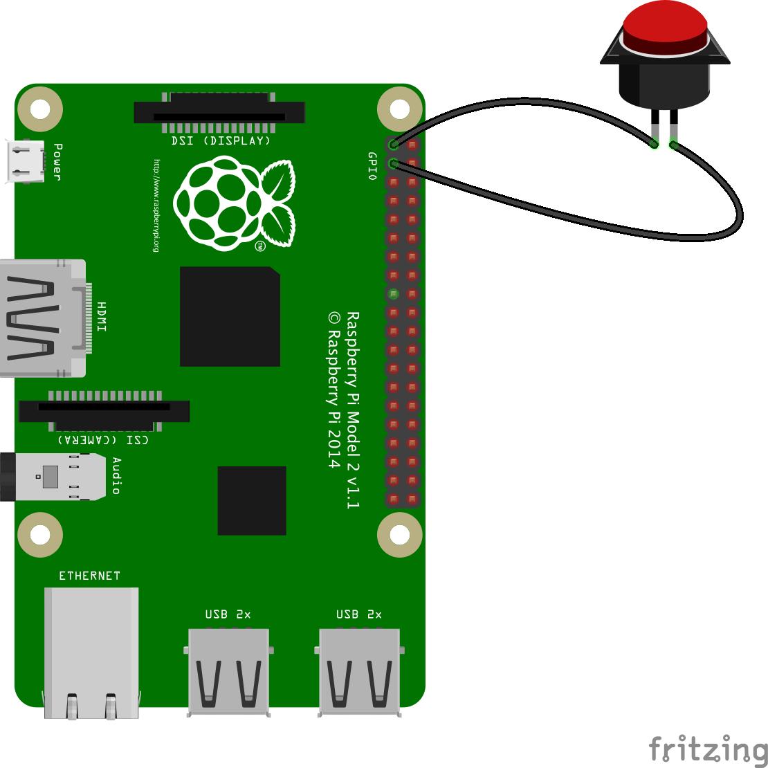 Raspberry Pi with Switch