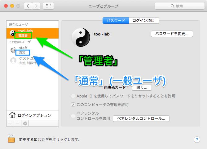 User type