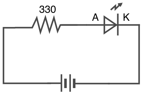 Circuit led diagram
