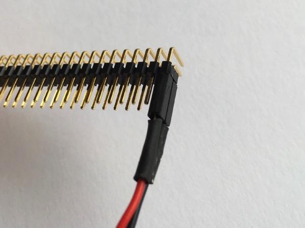 Board pin header 2 conn