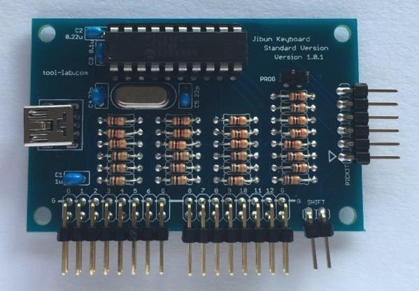 Ji v101 board mounted
