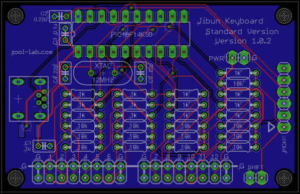 Jk v102 board