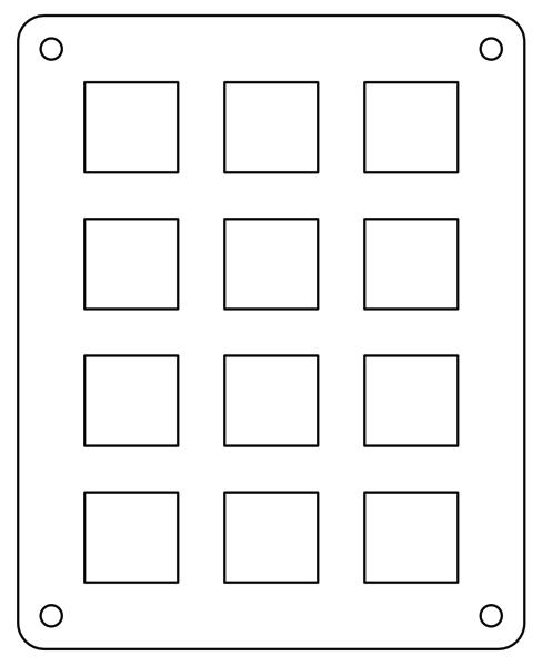 Keypad panel order