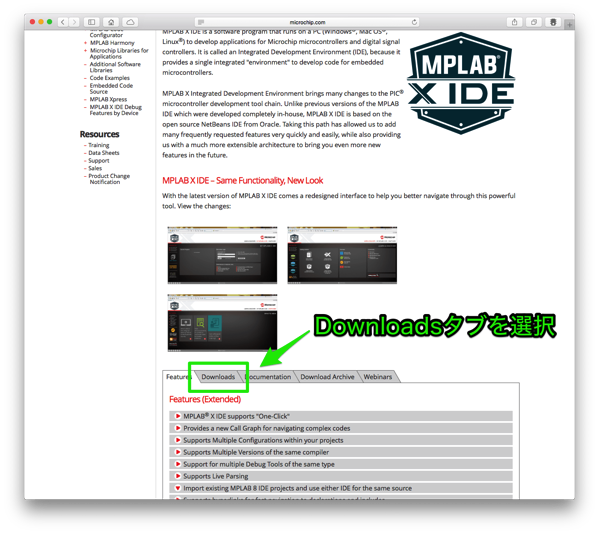 Mplabx install select mplabx downloads