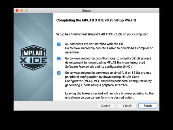 Mplabx install step 10