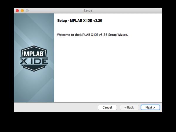 Mplabx install step 4