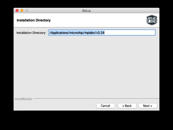 Mplabx install step 6