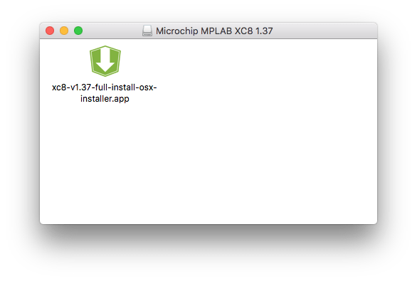 Xc8 install step 1