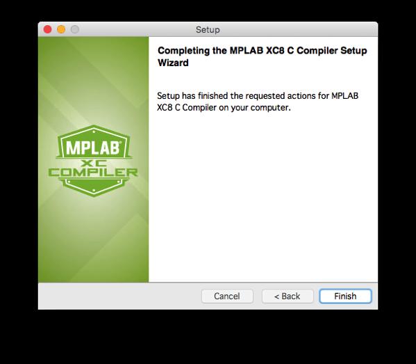 Xc8 install step 12