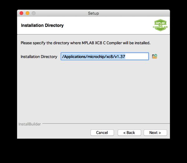 Xc8 install step 7