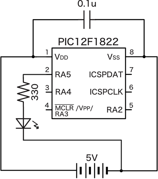 Pic led schematic 1