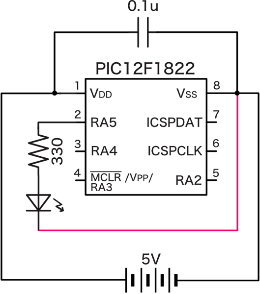Pic led schematic 2