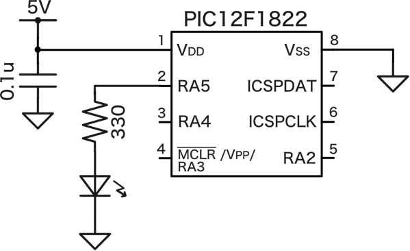 Pic led schematic 4