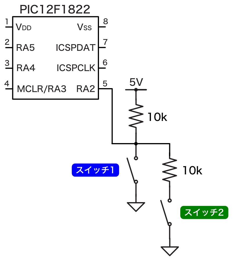 Pic app 8 pic circuit